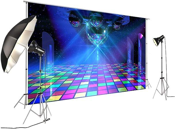 Fivan Disco Party Banner Hintergrund Blendfreie Kamera