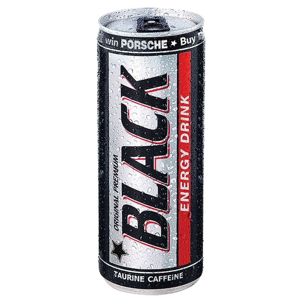 Black Energy Drink (250ml) - Pack of 6
