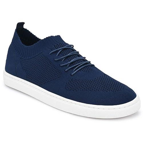 Buy Parx Solid Dark Blue Coloured