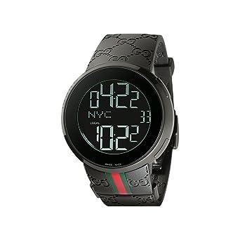 free shipping 2ed21 61c3d Amazon | Gucci グッチ I-Gucci (アイグッチ) メンズ 腕時計 ...