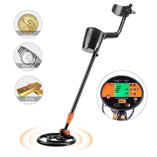 VIVOHOME Detector de Metales de Mano de Alta precisión con ...