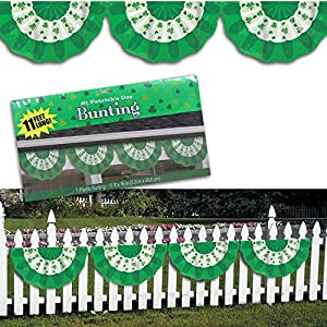 St. Patrick's Day Bunting Banner Decoration from Amscan