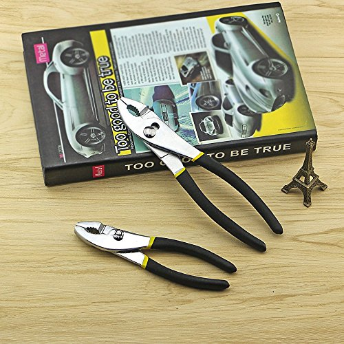 2 Size A Set Adjustable Hand Tool Crimping Pliers Water Pump Pipe Maintenance (8 inches) by DODO&HAIHANG (Image #5)