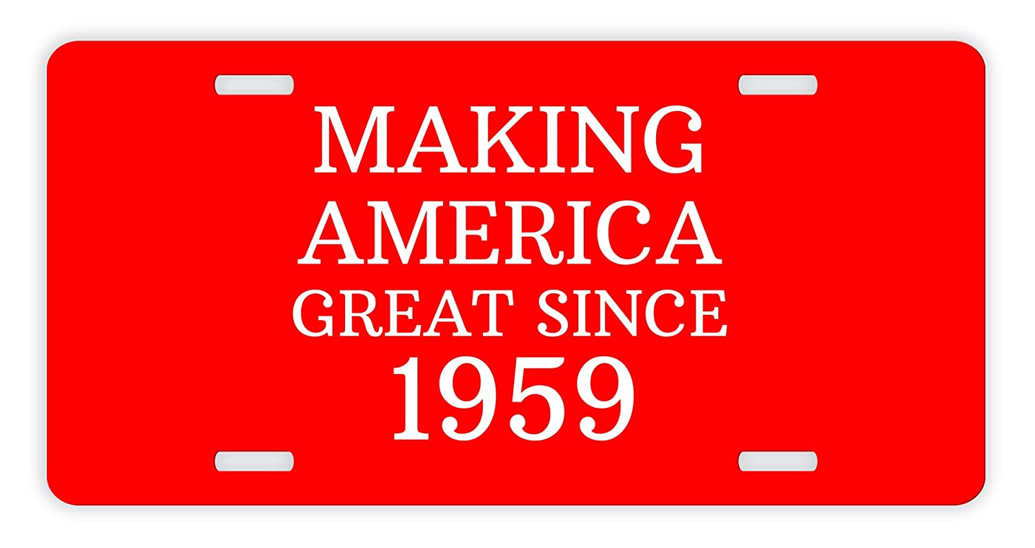 Amazon 18th Birthday Gifts For Brother Making America Great Since 2001 Party GOP Pro Polictical Novelty License Plate