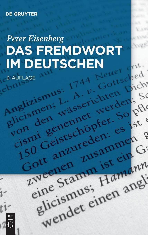 Das Fremdwort im Deutschen