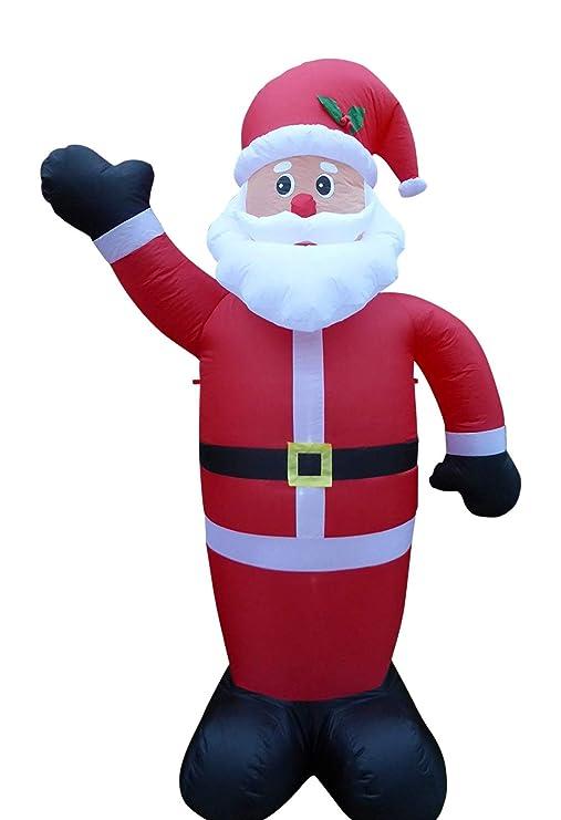 Papá Noel inflable grande de la decoración de 240 cm 243,84 cm ...