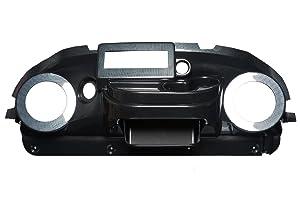 VIP PRDHCFEZIRT Club Car Precedent Dash Carbon Fiber EZ Install Din Radio Speaker Cut-Out 6.5 Inches