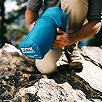 Fox Outfitters Airlite Sleeping Pad for Camping, Backpacking, Hiking. Fast Inflatable Air Tube Design with Built in Pump. by Fox Outfitters