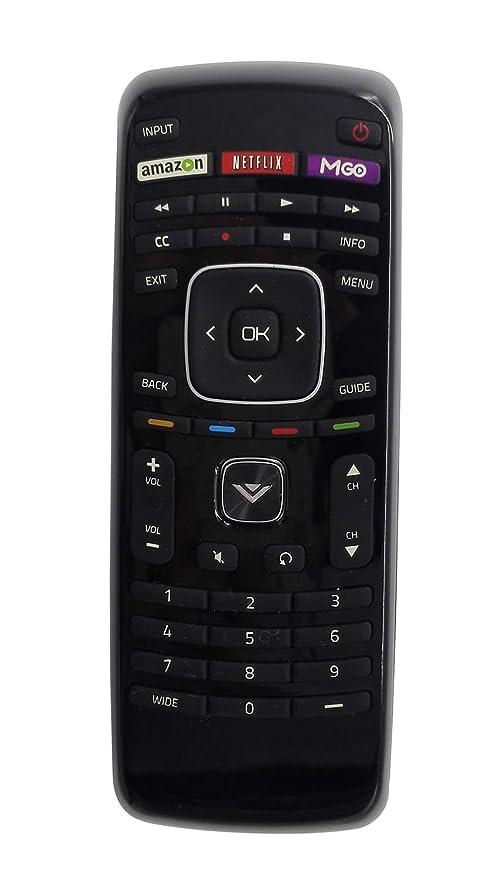 amazon com smartby new xrt112 remote control for vizio smart tv rh amazon com vizio vr15 remote control user manual Menu Button On Vizio Remote