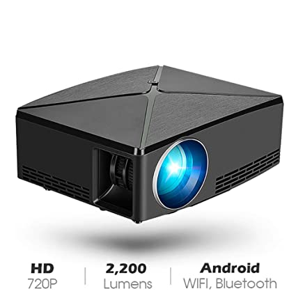 Amazon.com: YTBLF Mini Projector 1280x720 Resolution ...