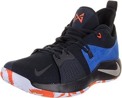 PG 2 Basketball Shoes (9.5, Black Blue