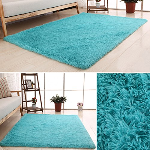 LOCHAS-Soft-Indoor-Modern-Area-Rugs-Fluffy-Living-Room-Carpets-Suitable-for-Children-Bedroom-Decor-Nursery-Rugs-4-Feet-by-53-Feet