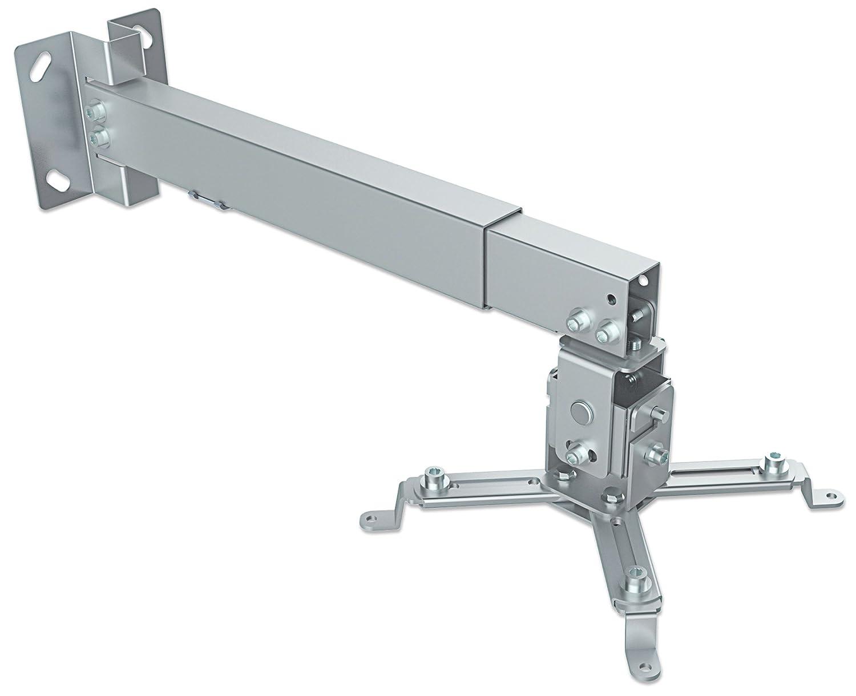 Manhattan Supporto Universale da soffitto per proiettore e proiettori Argento Argento verstellbar zw 122-202 cm