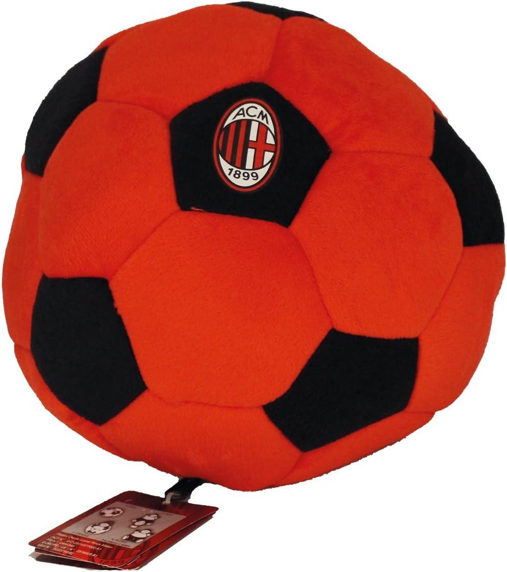 AC Milan Mailand - Pl/üsch Convertiball mit Maskottchen - 24 cm X 16 cm