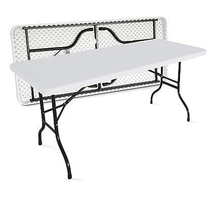 MOBEVENTPRO- Table de jardin pliante 180cm 8 places buffet ...
