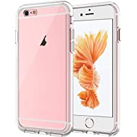 JETech Case for Apple iPhone 6 Plus and iPhone 6s Plus 5.5-Inch, Shock-Absorption Bumper Cover, Anti-Scratch Clear Back…