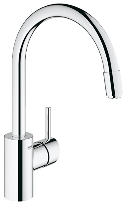 Amazon.com: GROHE one hand-SPT-mixer Concetto 31212 ND elbow spout ...
