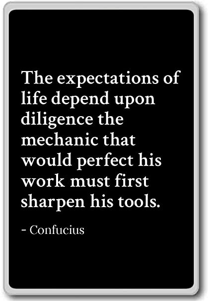 Amazon Com The Expectations Of Life Depend Upon Diligence Th