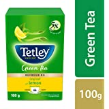 Tetley Long Leaf Green Tea, Lemon, 100g
