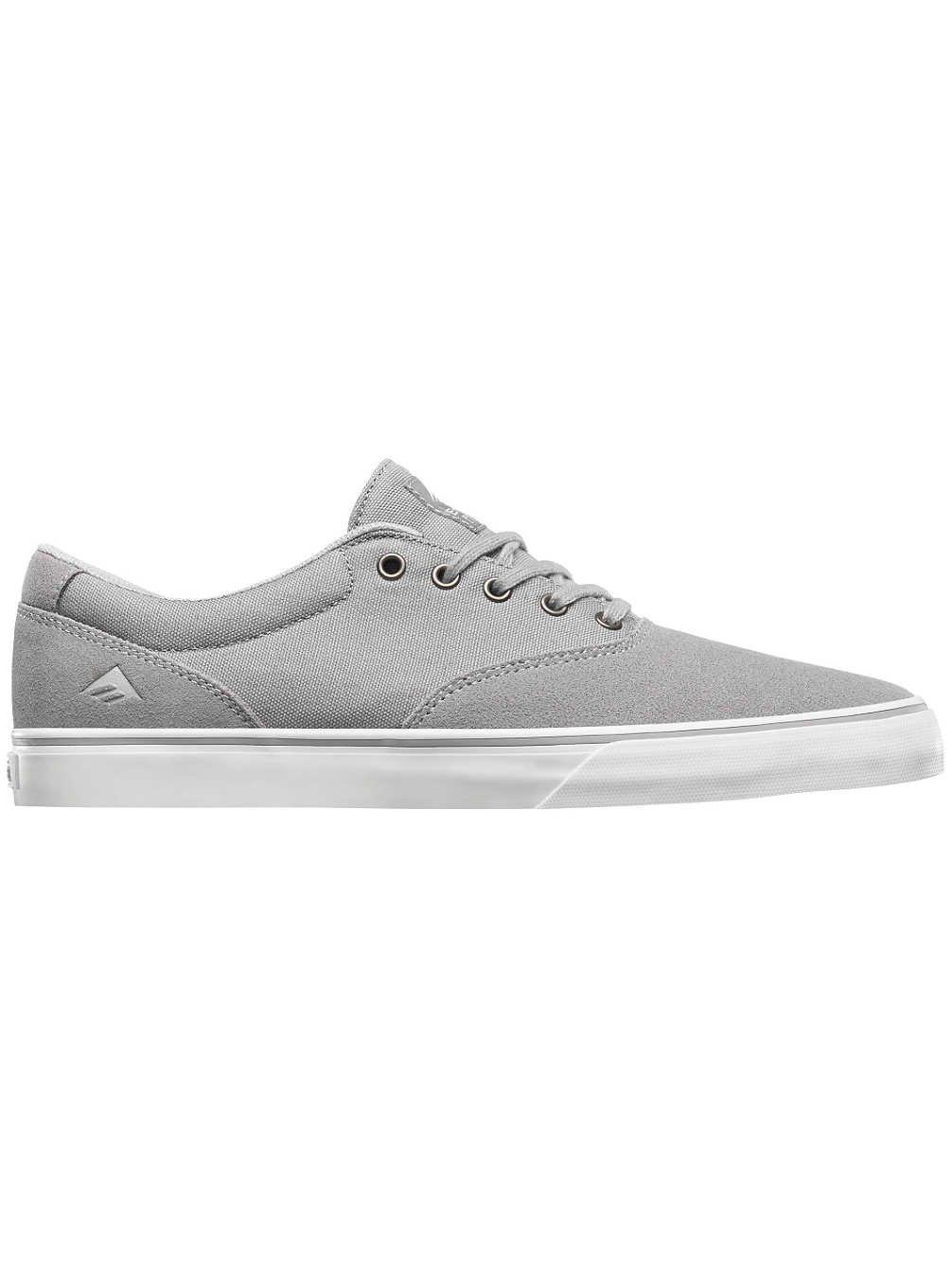 Emerica Provost Slim Vulc Skate Shoe,Grey,5 M US