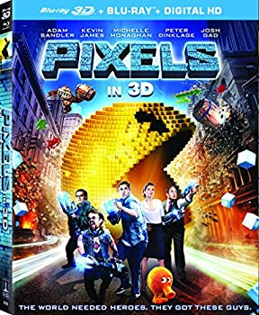 Pixels on 3D Blu-ray + Blu-ray + UltraViolet