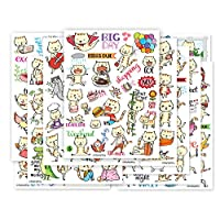 Cute CAT Planner Sticker - 10 Sheets Size 4 X 5.5 Inch