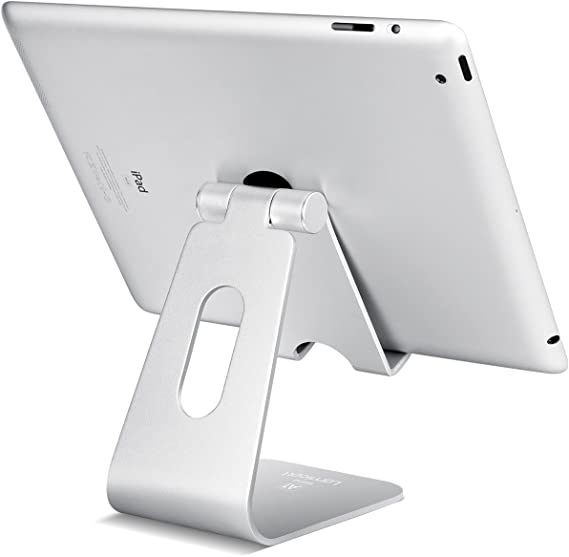 Accessories 10.5 Nexus Lamicall Tablet Stand : Desktop Stand Holder Dock Suitable to New iPad 2017 Pro 9.7 4-13 inch Air Mini 2 3 4 Tab E-Reader, Kindle - Gray Tablet Stand Adjustable