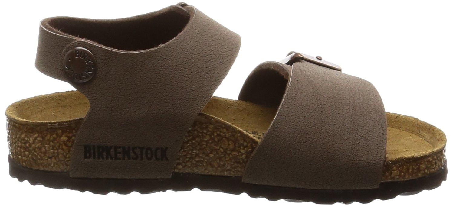 Birkenstock Unisex-Child New York Kids Mocca Birkibuc Sandals 24.0 N EU N 087783 by Birkenstock (Image #7)