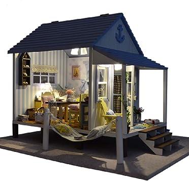 Kits de artesanía de Invernadero en Miniatura en 3D, Casa de ...