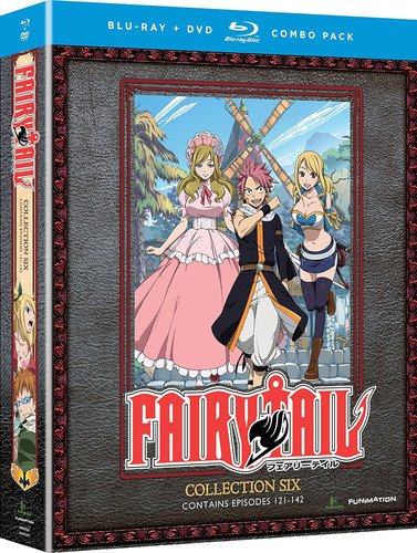 Blu-ray : Fairy Tail: Collection Six (With DVD, Boxed Set, 8 Disc)