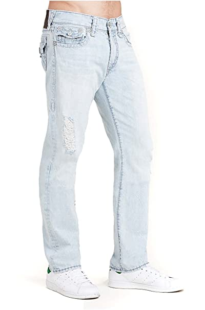 Amazon.com: True Religion Hombre Pierna Recta Super T ...