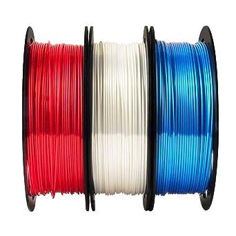VitoInk - Filamento PLA para impresora 3D (seda, 1,75 mm +/-0,05 ...