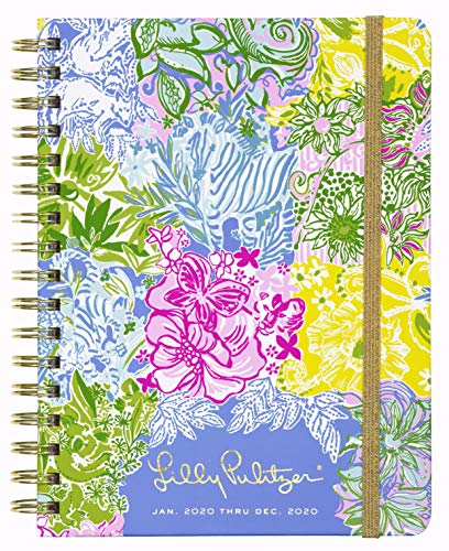 Lilly Pulitzer Large 12 Month Agenda Cheek To Cheek One Size