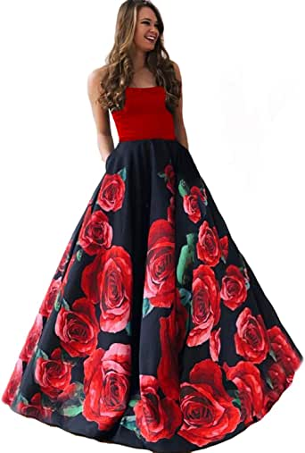 Amazon.com: DarlingU Women's Prom Evening Dresses Pockets