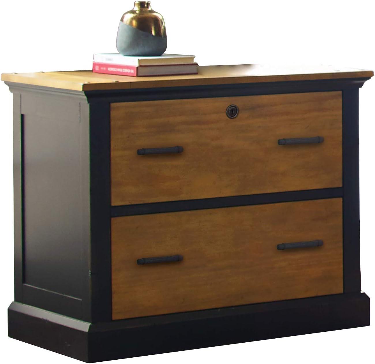 Martin Furniture Lateral File, Brown