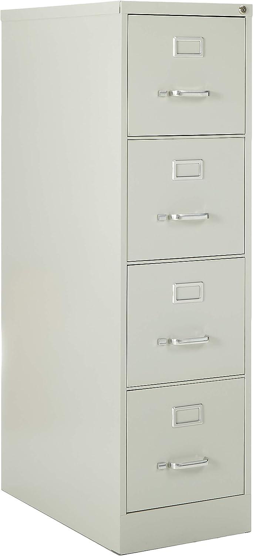 Light Gray 15 x 22 x 28 Lorell LLR42292 2-Drawer Vertical File