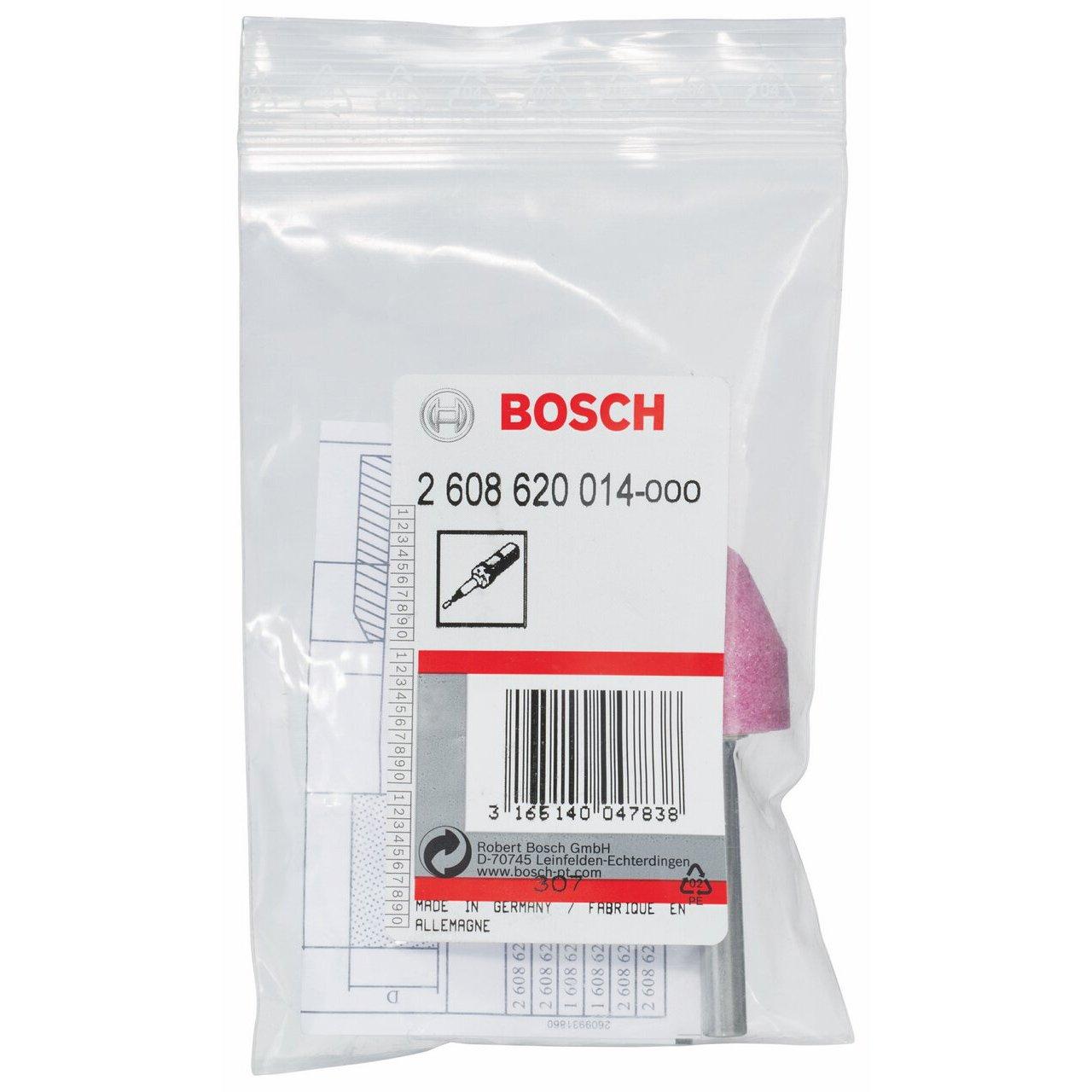 Medium-Hard 6 mm 20 mm 60 conical 25 mm Bosch 2608620014 Grinding Stone