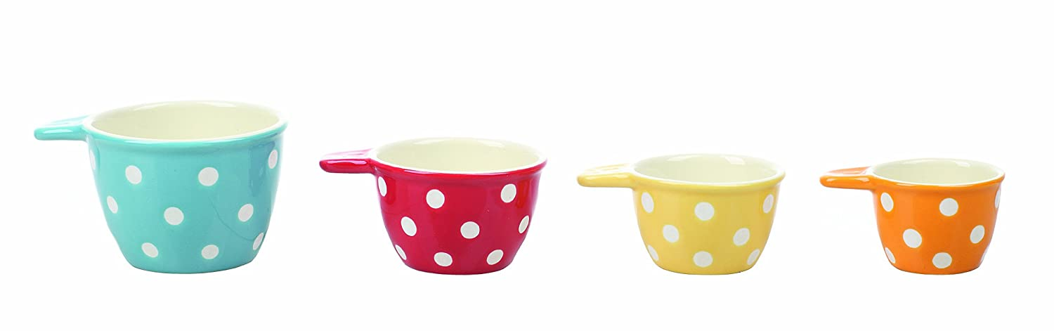 Creative Co-Op Ceramic Measuring Cup Set DA0095