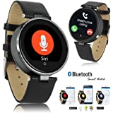 Indigi Bluetooth 4.0 SmartWatch Phone SIRI 3.0 For iPhone 6 6s plus Android (US Seller)