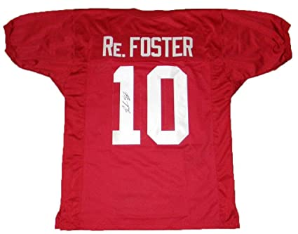 ab1d8ea2f Image Unavailable. Image not available for. Color  Signed Reuben Foster  Jersey -  10 ...