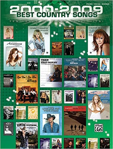 2000-2009 Best Country Songs: Hal Leonard Corp : 0884088688301