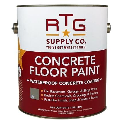 Image Unavailable. Image not available for. Color: RTG Concrete Floor Paint