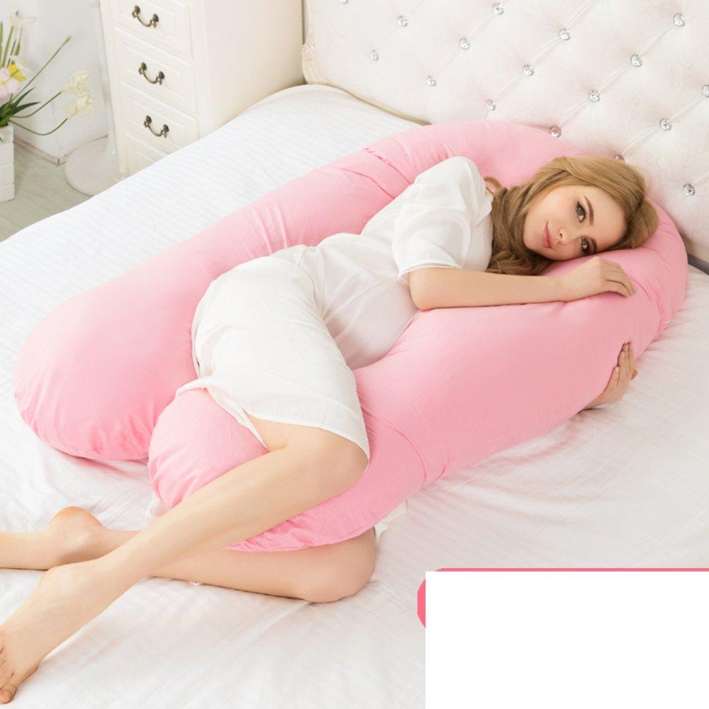 HDSGFDSHGK pregnancy pillow waist side sleeping pillow u pillow multifunctional sleeping pillow resting pillow on the abdomen [pillow by] waist cushion -A 145x85x20cm(57x33x8inch)