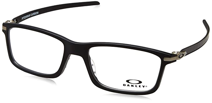 584ab508c8 Image Unavailable. Image not available for. Color  Oakley - PITCHMAN CARBON  OX 8092 ...