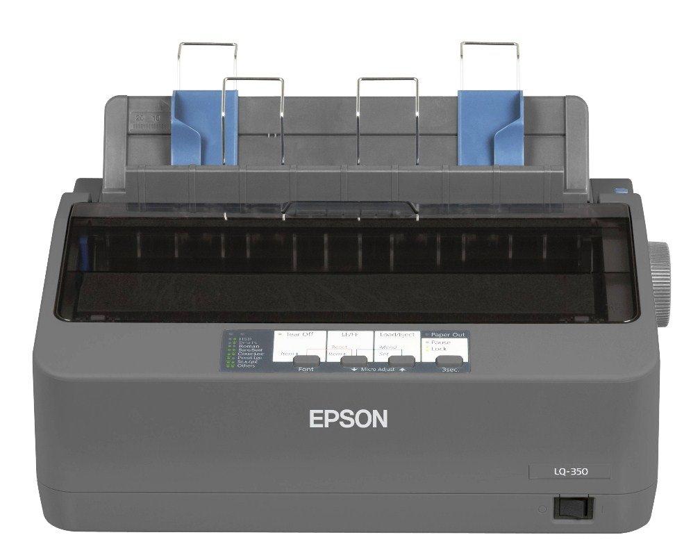 Epson LQ Impresora matricial agujas USB V color gris