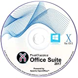 Office Suite 2017 Word & Excel 2013 2010 365 Compatible Software Power by Apache OpenOffice™ - Full Program with Free Updates (PC/Mac/Linux)