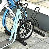 Soozier 2-Bike Floor Stand Storage Parking Rack
