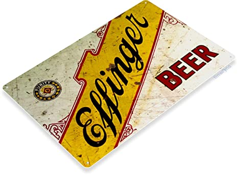 Amazon.com: Señal de estaño B608 Effinger cerveza Bar Lounge ...