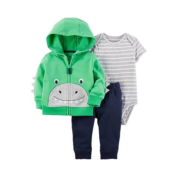 2df44c7ba Carter s Baby Boys  3 Piece Little Jacket Set  Amazon.co.uk  Clothing