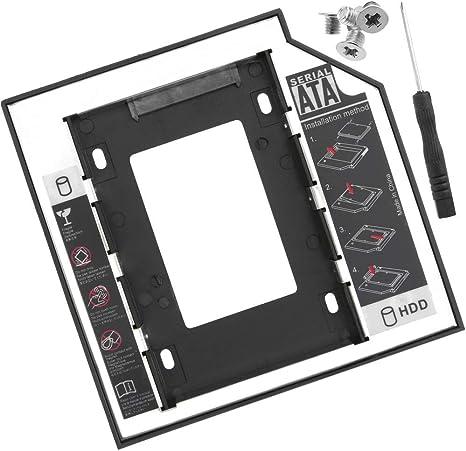BeMatik - Adaptador de disco óptico ODD CD DVD a disco duro SATA ...